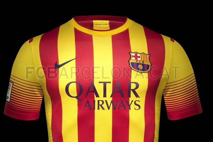Camiseta del Barcelona. kienyke