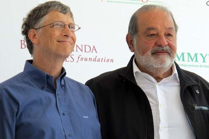 Carlos Slim, Bill Gates, Kienyke