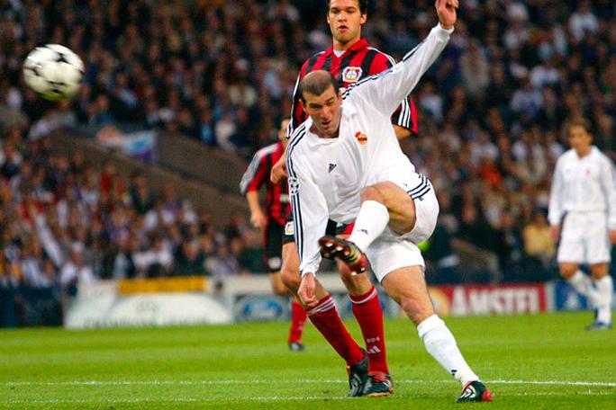 Zinadine Zidane, Champions League, Kienyke