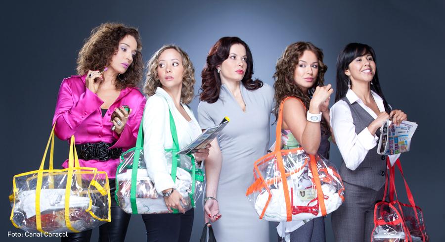 Cinco Viudas, Luly Bosa, Angélica Blandón, Coraima Torres, Heydi Bermúdez, Andrea Gómez, Kienyke