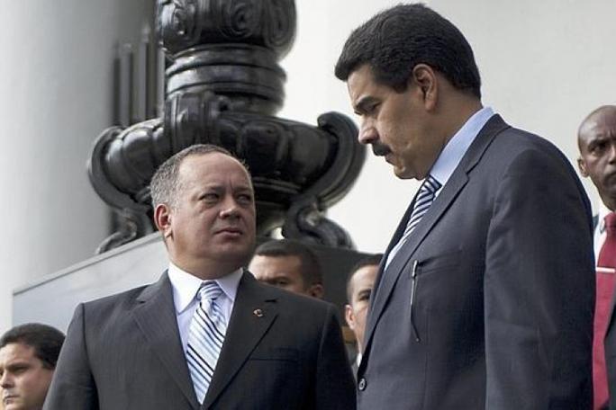 Diosdado Cabello y Nicolas Maduro, kienyke