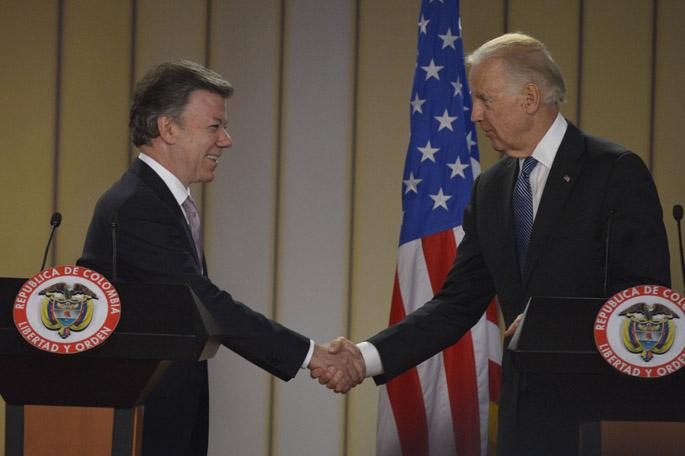 Juan Manuel Santos y Joseph Biden, kienyke