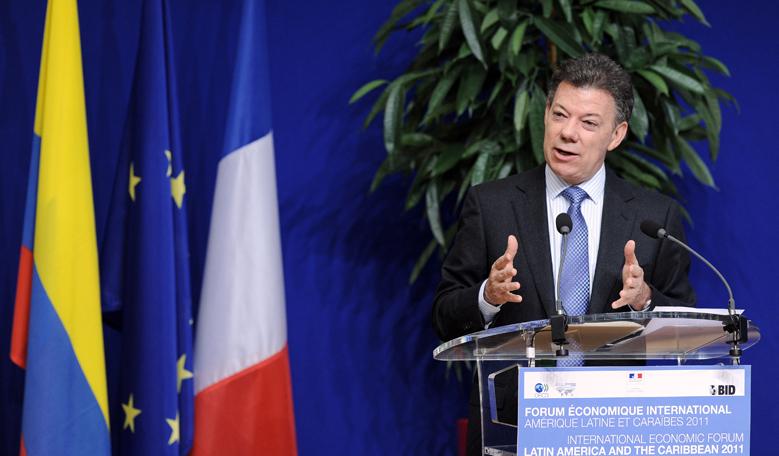 Juan Manuel Santos, kienyke