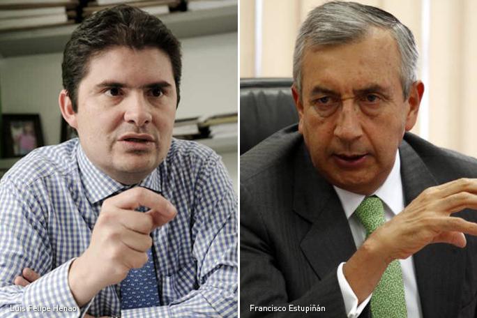 Luis Felipe Henao, Francisco Estupiñán, Kienyke