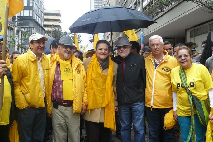 Aurelio Suárez, Germán Navas Talero, Clara López, Carlos Gaviria, Jorge Robledo, kienyke