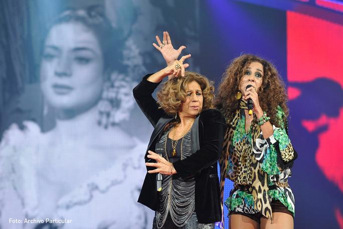 Rosario y Lolita Flores, Kienyke