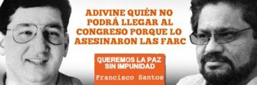 Valla de Francisco Santos,kienyke