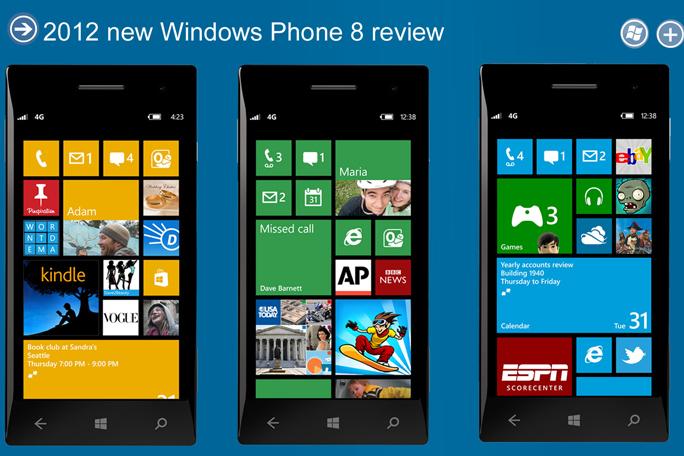Windows Phone, kienyke