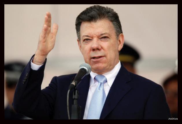 """Santos pide Farc """"meterle acelerador"""" a diálogos"""