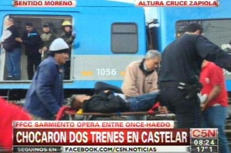 Choque de trenes en Buenos Aires, Kienyke