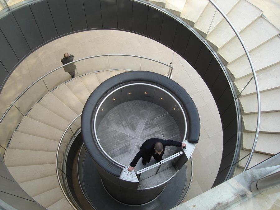 Ascensor Louvre, Kienyke