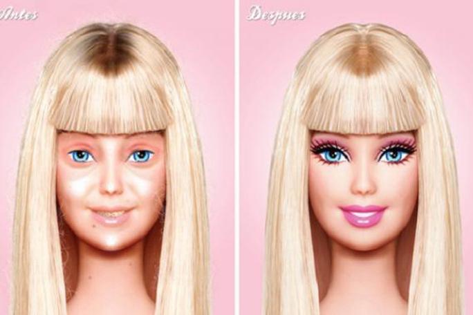 Barbie sin maquillaje, kienyke