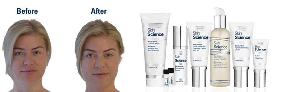 Crema de semen, Skin Science, Kienyke