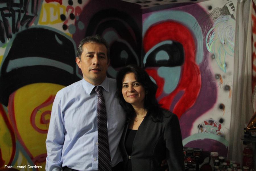 Gustavo Trejos y Liliana Lizarazo, Diego Becerra, Grafitero, Kienyke