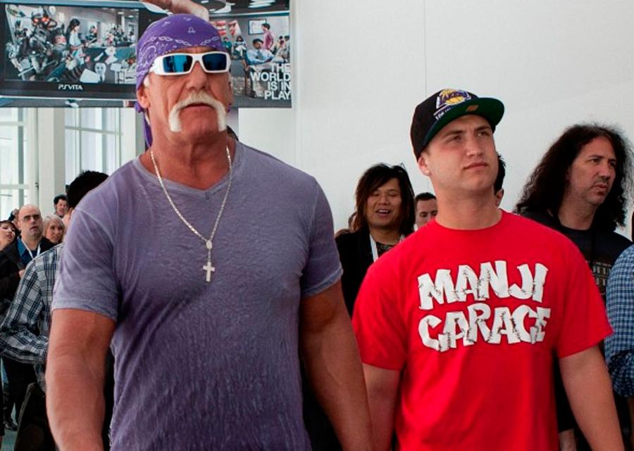 Hulk Hogan y Nick Bollea, Kienyke