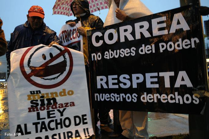 Libertad de prensa Ecuador, Kienyke