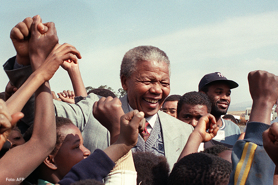 Nelson Mandela 1992, Kienyke