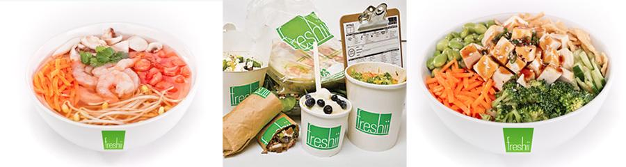 Freshii, comida vegetariana, Kienyke