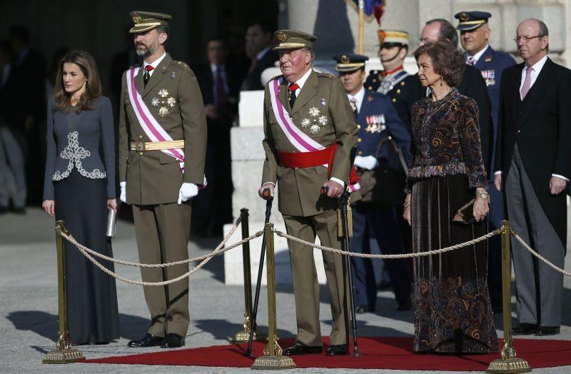 La aparición del Rey Juan Carlos