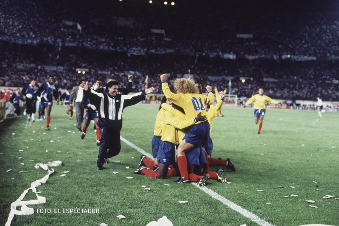 Seleccion colombia 1993, kienyke