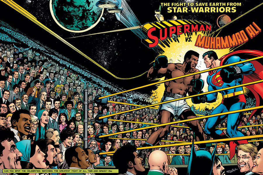 Superman vs. Muhammad Ali, Kienyke