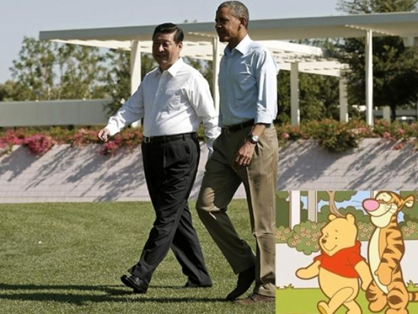 Xi Jinping y winnie pooh, kienyke