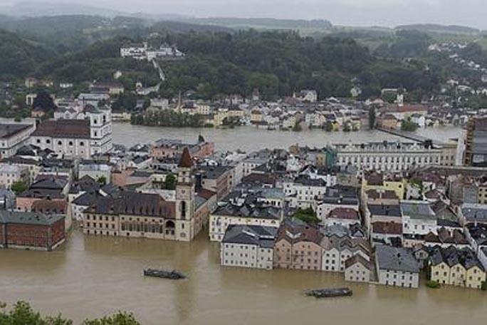 Inundaciones en Europa, Rio Danubio, kienyke