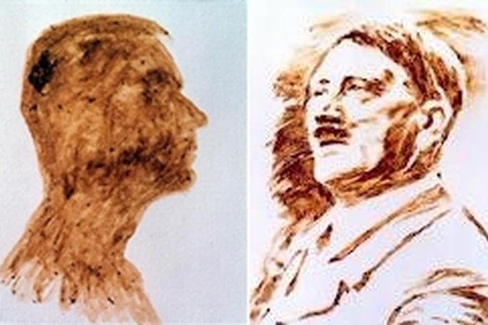 martin von ostrowski, cuadros hechos con semen, kienyke