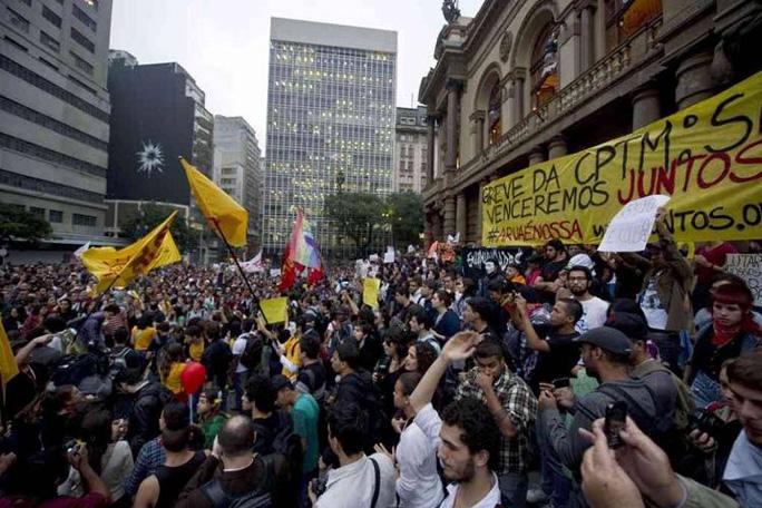protestas en Brasil, copa confederaciones, kienyke