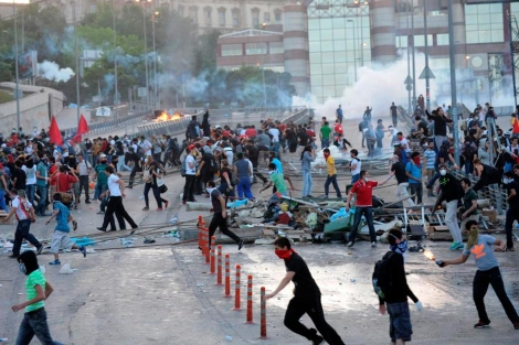 Sexto día de protestas en Turquía