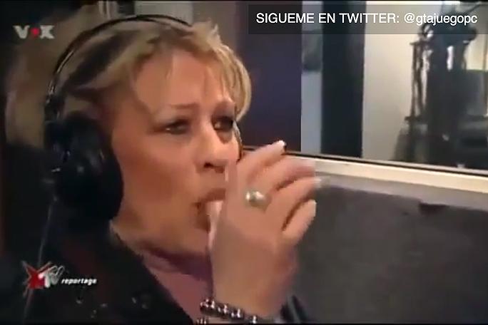 Anciana haciendo los ruidos de porno, kienyke