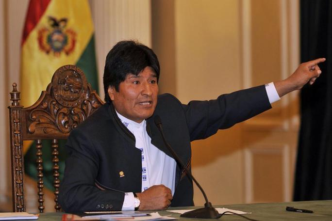Evo Morales.kienyke