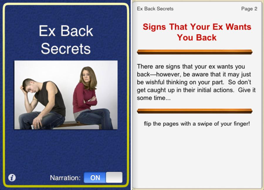 Ex back secrets, Kienyke