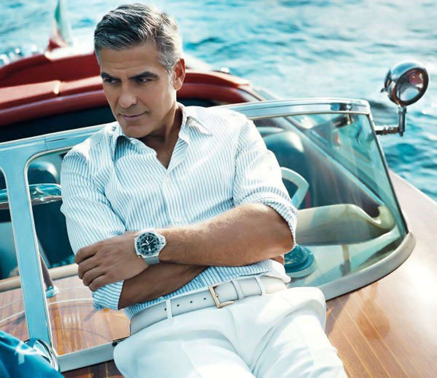 George Clooney, Bulgari, Reloj, Kienyke