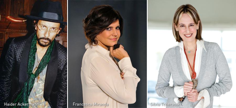 Haider Ackermann, Francesca Miranda, Silvia Tcherassi, Kienyke