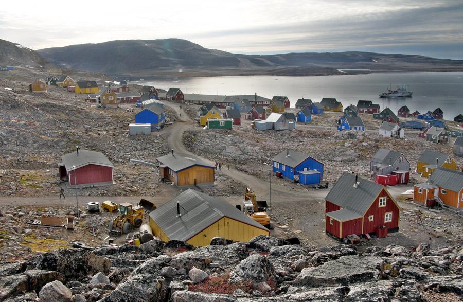 Ittoqqortoormiit Groenlandia, Kienyke
