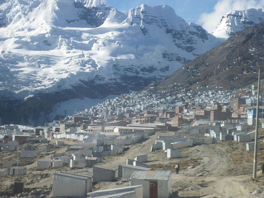 La Rinconada Perú, Kienyke