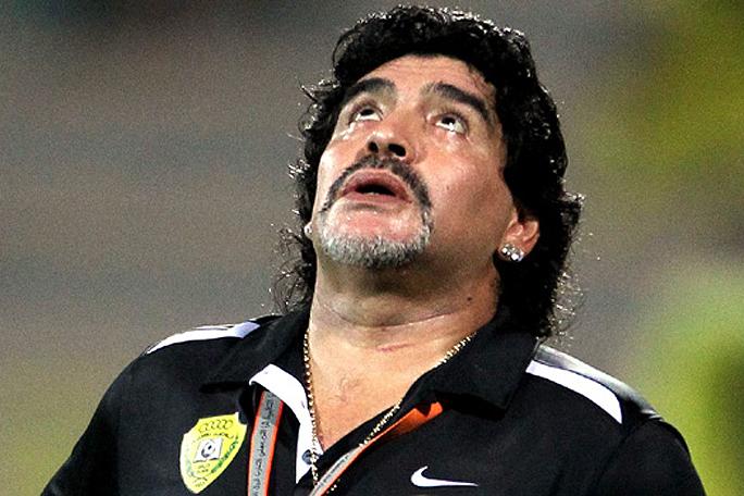 Diego Armando Maradona, kienyke