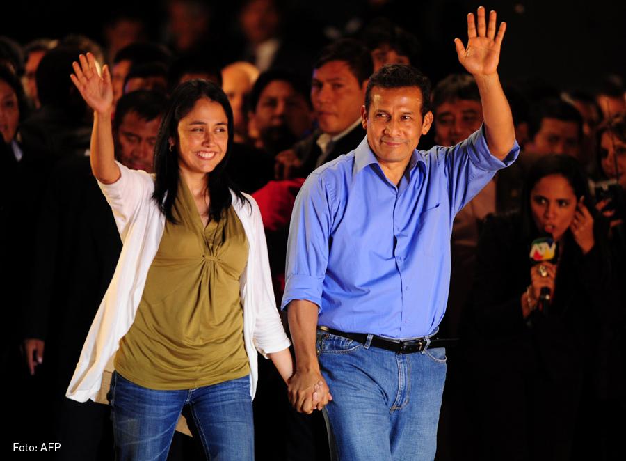 Nadine Heredia y Ollanta Humala, Kienyke
