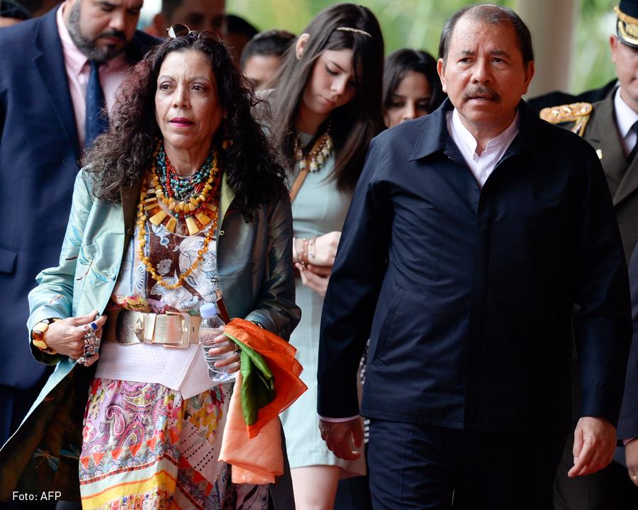 Rosario Murillo y Daniel Ortega, Kienyke