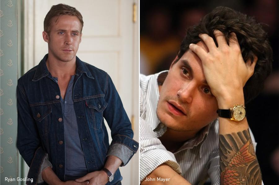 Ryan Gosling, John Mayer, Patek Philippe, Reloj, Kienyke