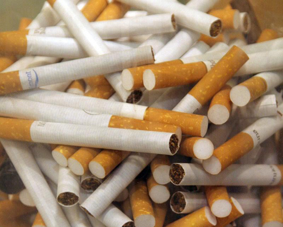 Tabaco, cigarrillos, kienyke