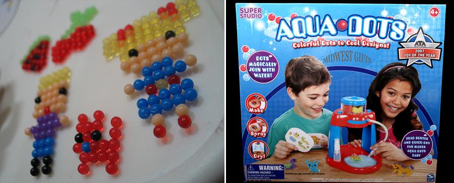 Aqua Dots, inventos peligrosos, kienyke