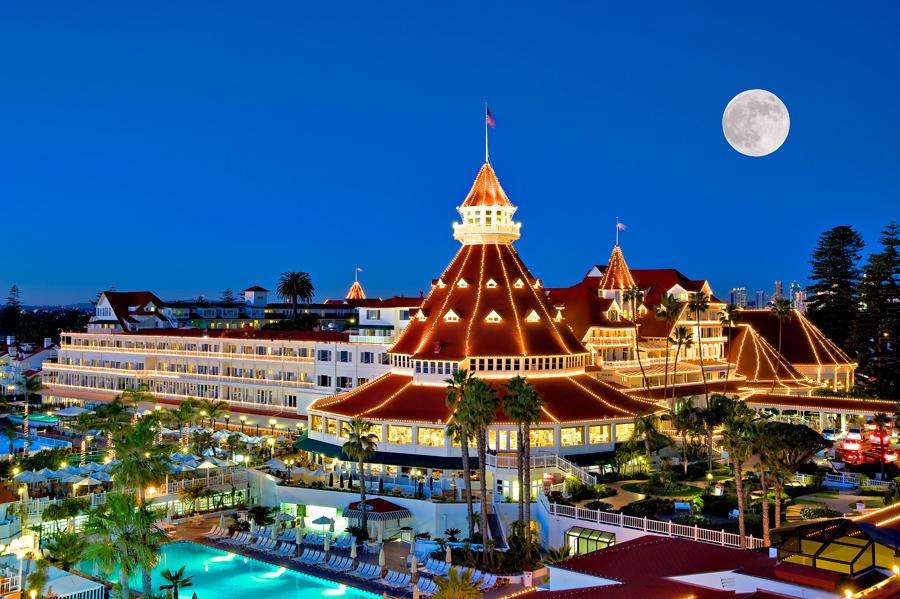 Hotel del Coronado, Con faldas y a lo loco, Kienyke