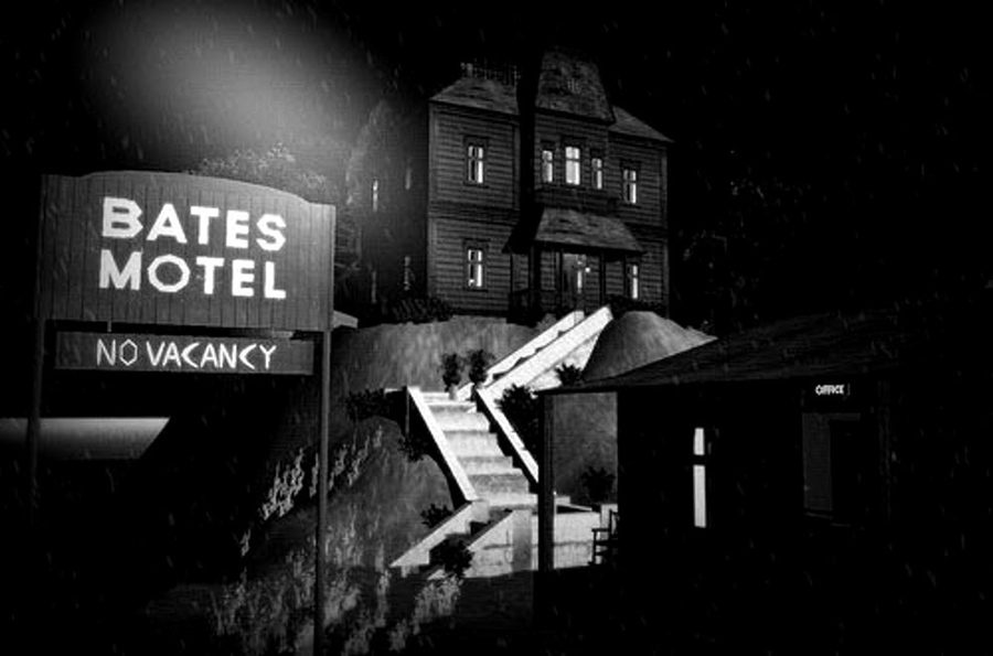 The Bates Motel, Psycho, Kienyke