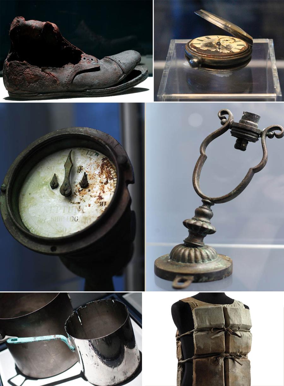Titanic, objetos encontrados, tragedias, kienyke