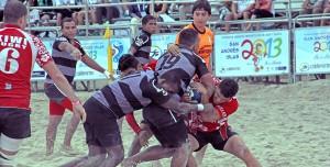 Rugby playa, kieyke