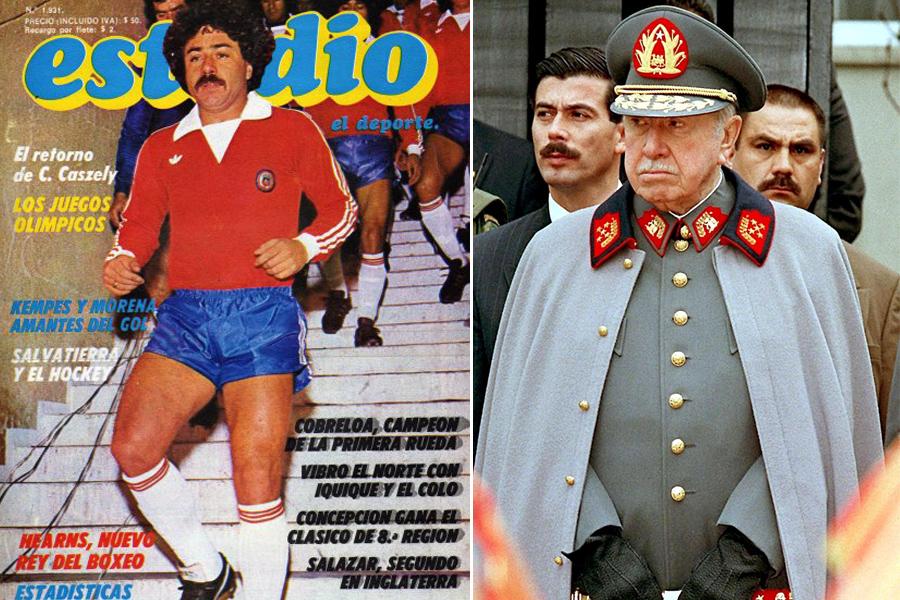 Carlos Caszely, Augusto Pinochet, Kienyke
