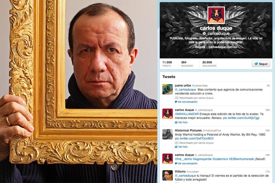 Carlos Duque, Twitter, Kienyke