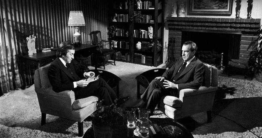 David Frost y Richar Nixon, kienyke